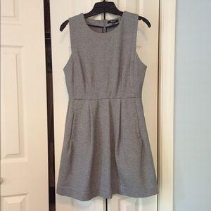 Madewell gray shift dress size 10